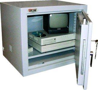 armadio di sicurezza tv televisione circuito chiuso